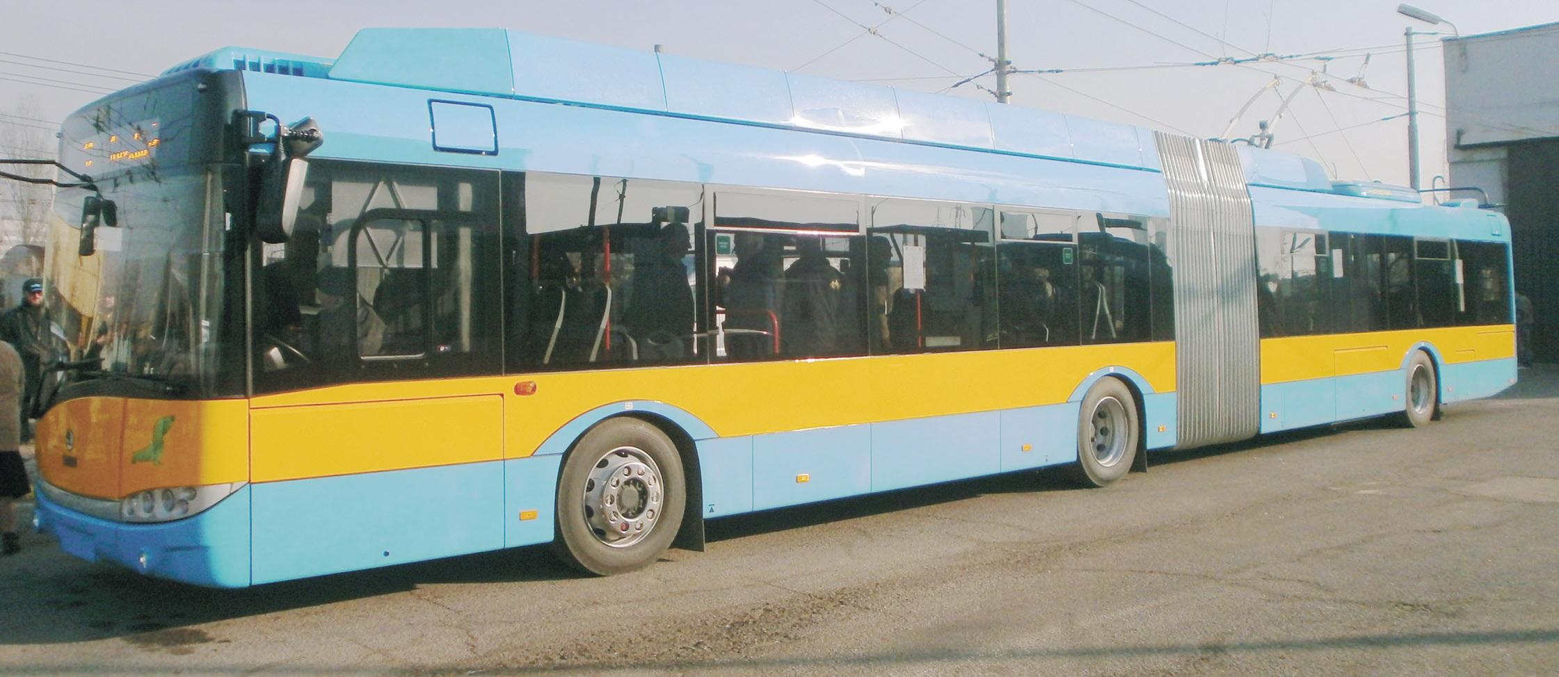 Първият нов Škoda Solaris вече се движи в София