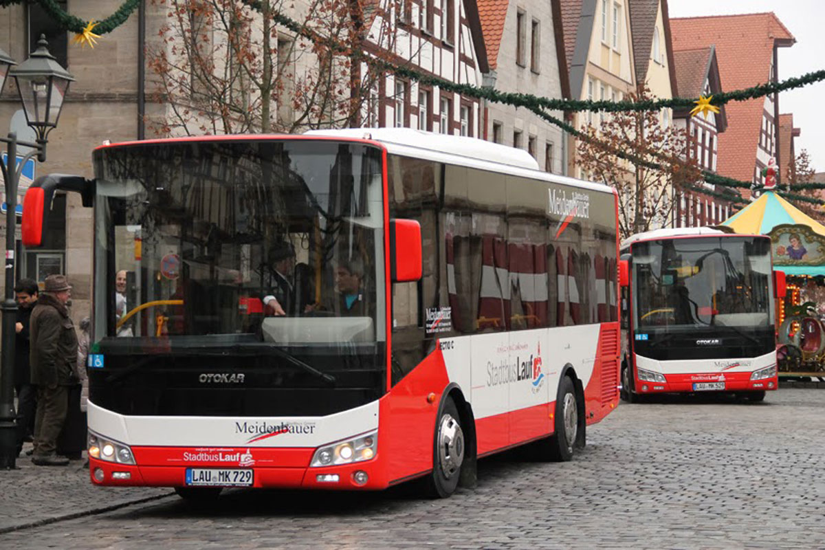 Otokar достави първите шест Евро-6 автобуса в Германия