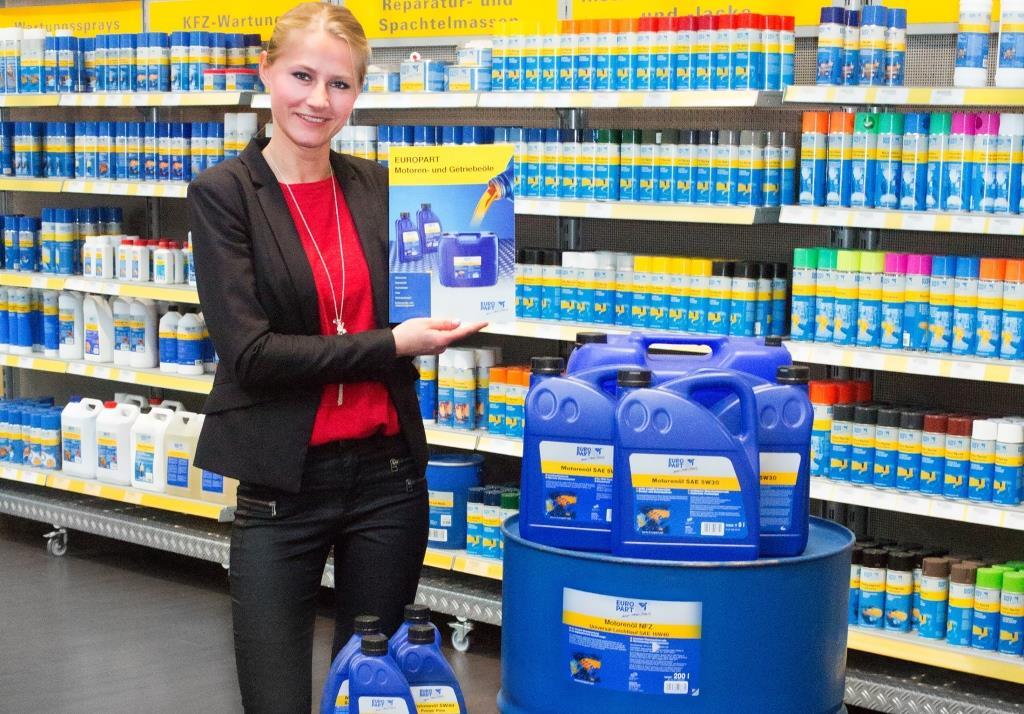EUROPART разширява гамата от моторни масла