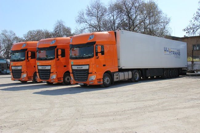 Първите оранжеви DAF Евро-6 в България са за Ули Транс ЕООД
