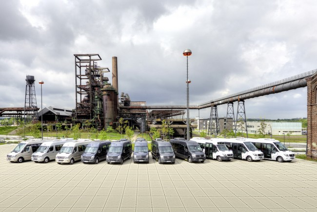 Тестове на Евро-6 гамата на Mercedes-Benz Minibus