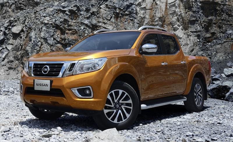 Това е новият Nissan Navara!