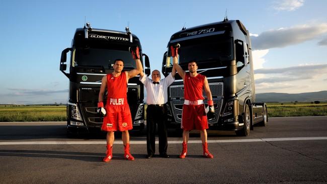 Вълнуваща реклама на Volvo Trucks с Кубрат и Тервел Пулеви
