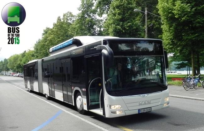 MAN Lion's City GL CNG e Автобус на годината 2015