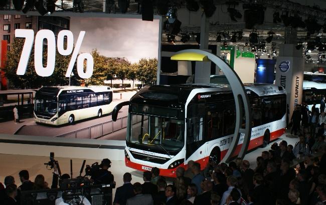 Изцяло нов Volvo 7900 Electric Hybrid