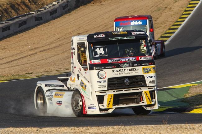 Europart в състезанието за камиони ETRC