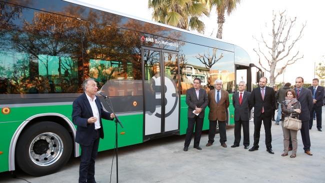 Barcelona Metropolitan Area  ще тества Irizar i2e