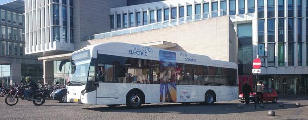 Тестове с VDL Citea Electric в Маастрихт