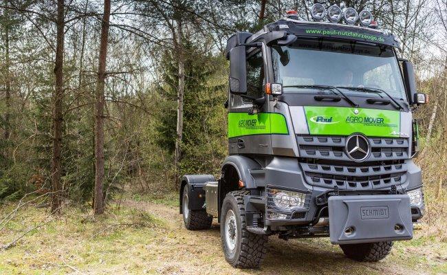 Специализирани камиони от Paul Nutzfahrzeuge