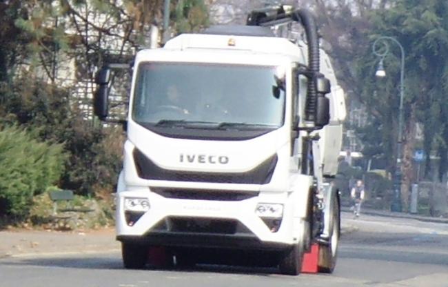 Уловиха в кадър новият Iveco Eurocargo