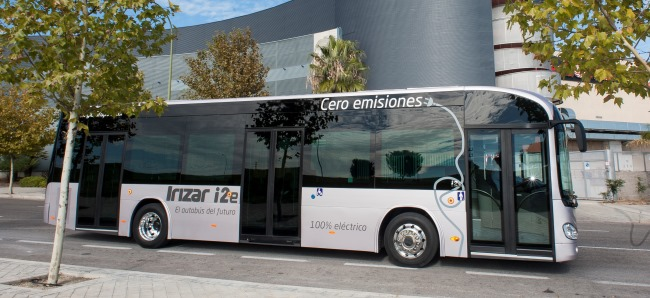 Електрически Irizar на изложението в Милано