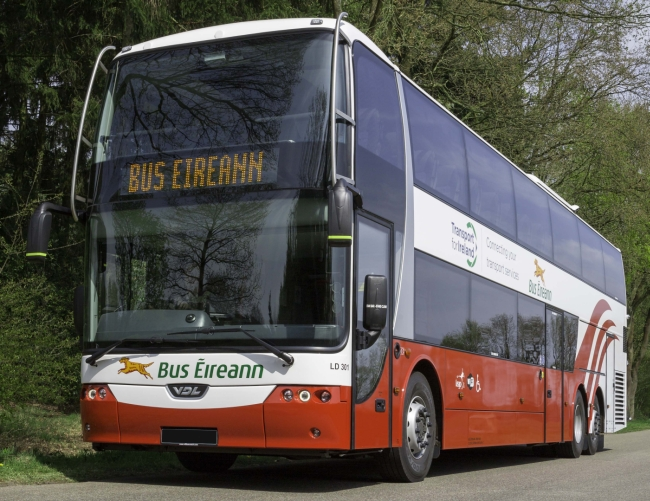 12 двуетажни VDL Synergy за Bus Eireann