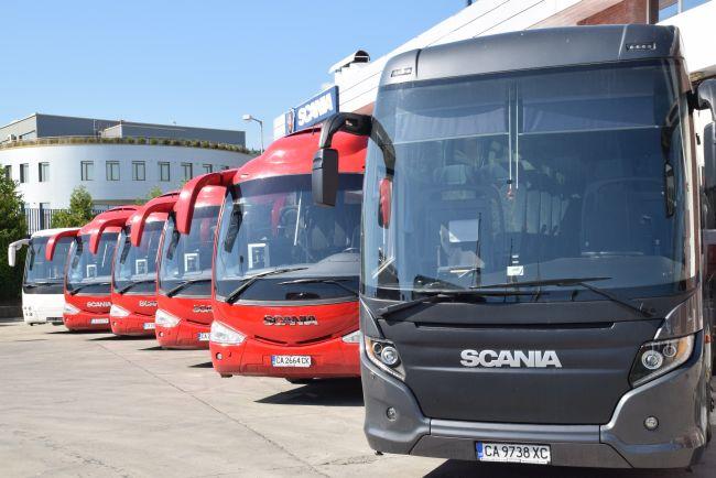 Дни на отворените врати за употребявани камиони и автобуси в Скания България