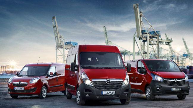 Лекотоварните автомобили на Opel за моделната 2016 година