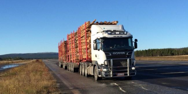 Scania R730 в тестове за свръх тежки композиции