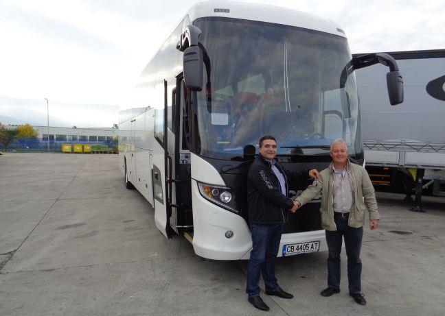Нов Scania Touring за Бохемия