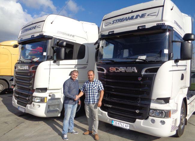 Два уникални Scania R500 EEV за Мати 2000