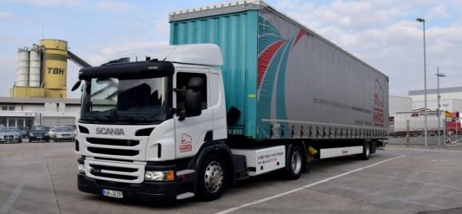 За транспортните задачи Audi разчита на Scania CNG