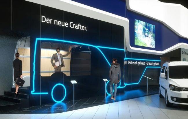 Виртуален поглед на новия Crafter