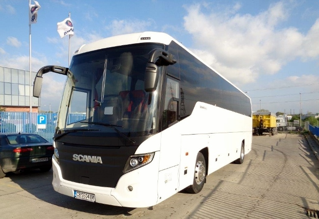 Нова доставка на Scania Touring HD