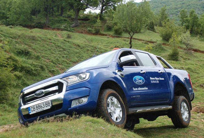 Новият Ford Ranger: за работа и удоволствие