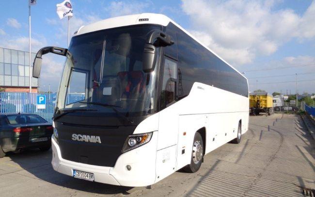 Автобуси Scania на Truck Show КАМИОНИ 2016