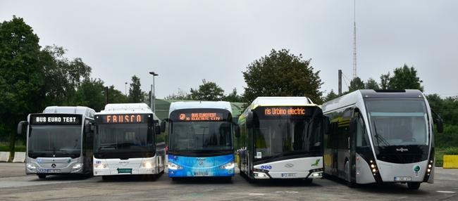 Bus Euro Test 2016: Под високо напрежение