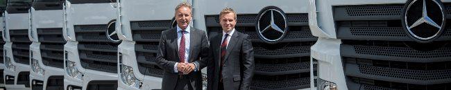 Girteka Lоgistics с 1000 нови Mercedes-Benz Actros