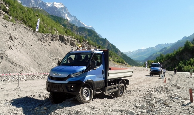 С Iveco Daily 4x4, Евро-6 към покрива на Европа