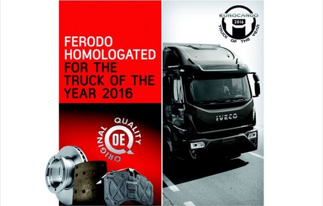 Ferodo помага на Iveco Eurocargo да спира безопасно