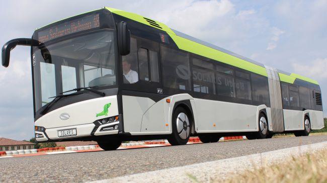 7 нови съчленени Solaris Urbino за Бургасбус