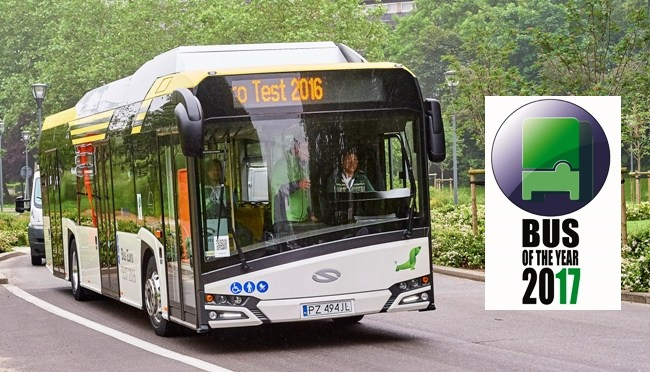 Solaris Urbino 12 electric e Bus of The Year 2017