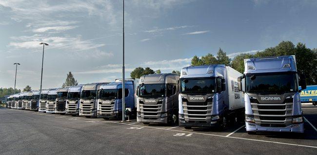 Първи драйв тестове на новата Scania