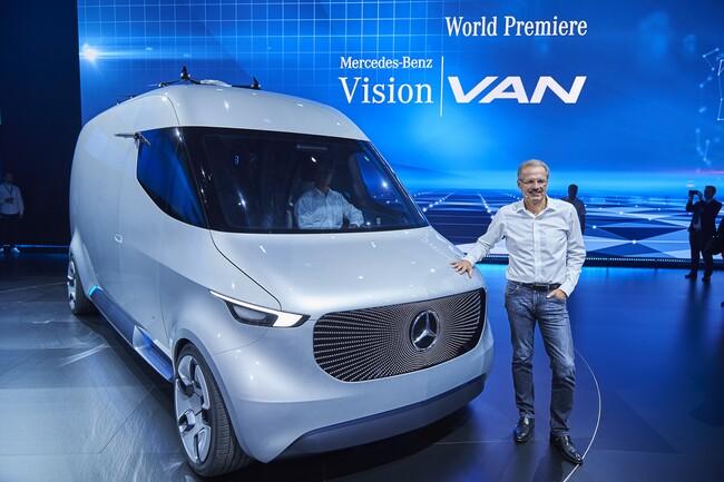 Mercedes-Benz представи футуристичния Vision Van