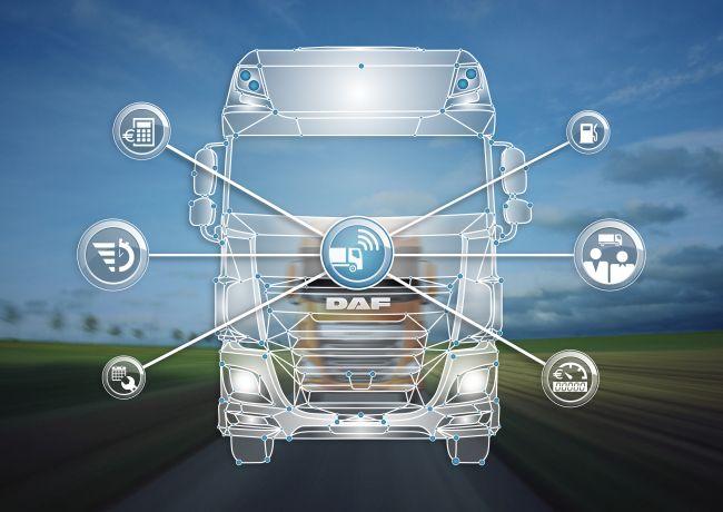 DAF - премиера на система за управление на парка DAF Connect