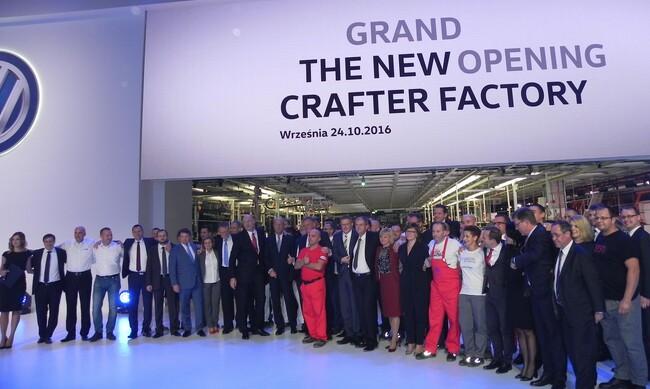 Volkswagen Nutzfahrzeuge откри новия завод за Crafter