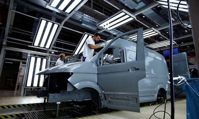 VW обмисля производство на Crafter в САЩ