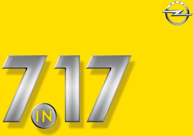 Седем нови модела Opel през 2017