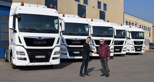 Олимпия закупи 6 влекача MAN от новата серия