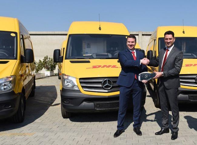 Балкан Стар предаде 30 нови Mercedes-Benz Sprinter на DHL Експрес България