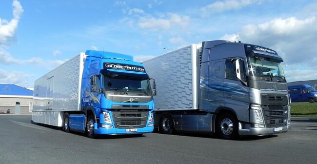 Пътни тестове на Volvo FH 460 и FM 450