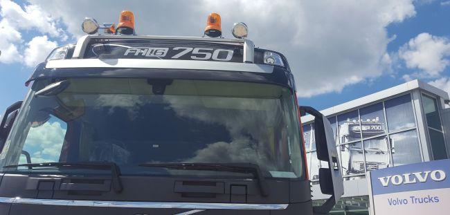 Първа доставка на Volvo FH 16 със 750 к.с. у нас