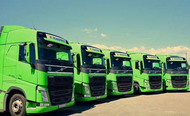 Транспрес с 10 нови влекача Volvo FH