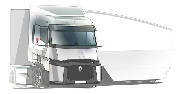Новият концептуален влекач Renault Trucks - Falcon ще дава 13% по-нисък разход на гориво