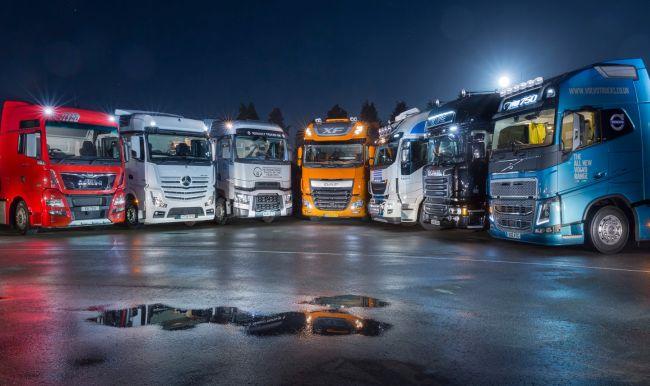 1280 нови тежки камиона на полугодието в България