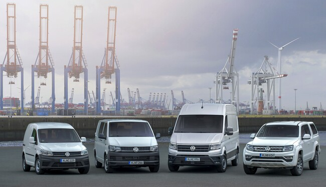 Volkswagen Лекотоварни с 5 на сто ръст в продажбите по света