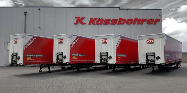 150 полуремаркета Kässbohrer за ICTS Group