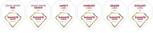 Рекорден брой кандидати за наградите на Busworld Europe 2017