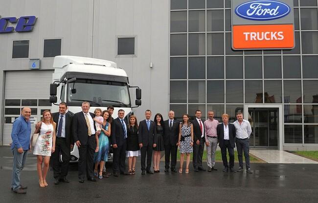 Вторият търговско-сервизен център на Ford Trucks е в Бургас
