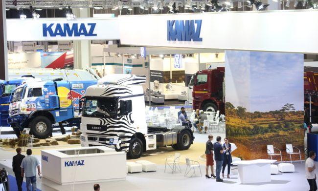 КамАЗ представи новата кабина K5 на Comtrans 2017